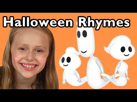 Ghost Family and More Halloween Rhymes | Nursery Rhymes from Mother Goose Club!