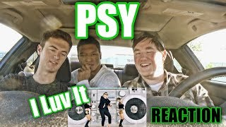 PSY I LUV IT MV Reaction Dancing with his Groin