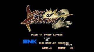 (Playthrough)Art of Fighting 2 as Robert Garcia-No Rounds Lost