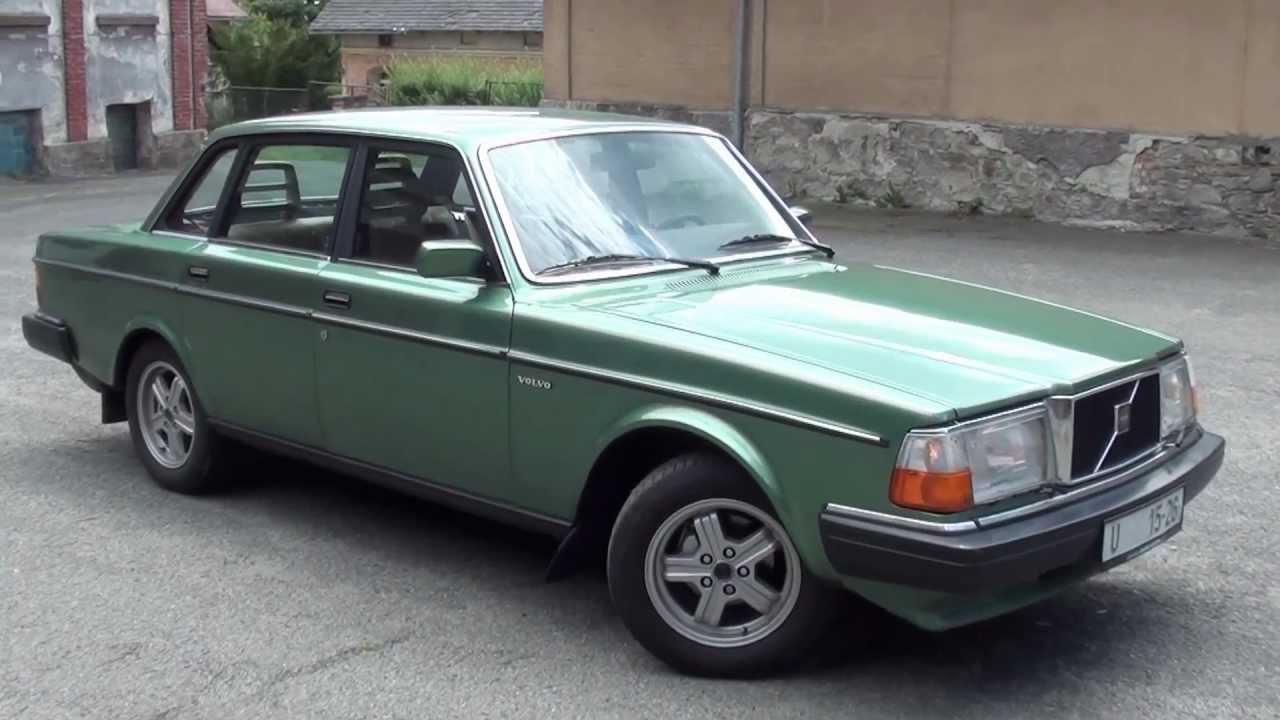 Volvo 244 GL - old VolvoCar - www.polarcars.cz - YouTube
