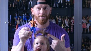 Go inside Curt Hawkins' amazing WWE toy room