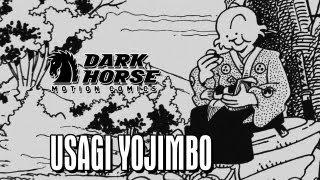 A Wandering Ronin is Ambushed by Bandits - Dark Horse Comics: Usagi Yojimbo