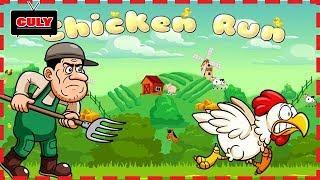 Chơi Chicken Run chú gà chạy trốn bác nông dân lụm trứng gà cu lỳ chơi game lồng tiếng vui nhộn