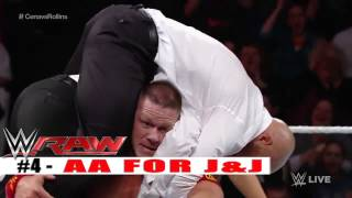 Top 10 WWE Raw moments  December 23, 2014