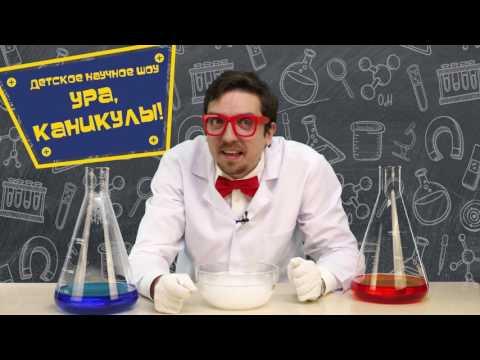 НАУЧНОЕ ШОУ «УРА, КАНИКУЛЫ!», Видео-приглашение