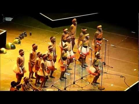 The African Children's Choir at the Young Voices concert, London O2 Arena, 30 Jan 2013