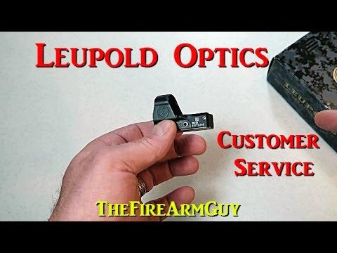 Leupold Delta Point Pro Customer Service Experience - TheFireArmGuy