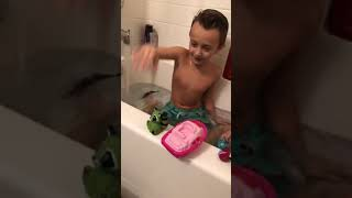 Sing baby shark bath toys babies