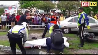 Bapa maut, anak cedera dirempuh kereta