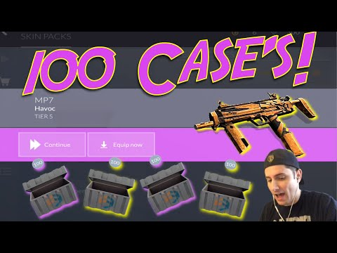 Critical Ops - Open 100 Case's - Auto Aim OP? When will Game Release on iOS?