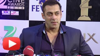 Salman Khan Speaks On PRDP Success, Sultan And Dangal | Zee Cine Awards 2016