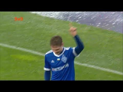 Динамо - Мариуполь - 2:1. Гол: Цыганков (48')