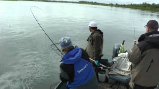 Agat Team fishing King Salmon in ALASKA