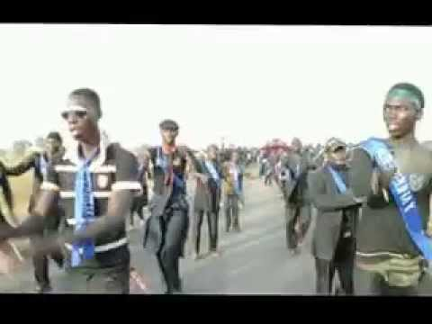 Tattaki on Second Day Kura. Trekking to Hussainiya In Nigeria.