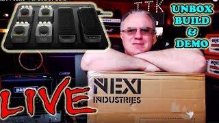 LIVE - NEXI Pedals - Full Board / Build