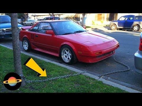 10 Dziwnych Sposobów Na Zabezpieczenie Samochodu Przed Kradzieżą