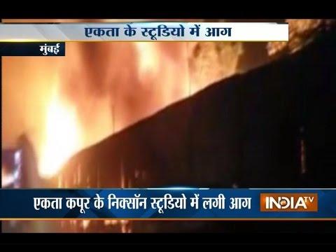 Major fire at Ekta Kapoor's studio in Sakinaka