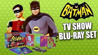 BATMAN Complete BLU-RAY TV Series Collectors Edition Unboxing Review