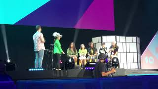 Vidcon 2019 Day 3/July 13,2019 (Smosh's Try Not To Laugh Live With Fans Part 5) Feat. Olivia Sui