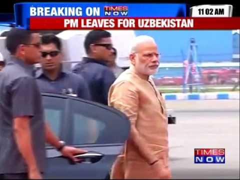 PM Modi Leaves for SCO Summit in Tashkent