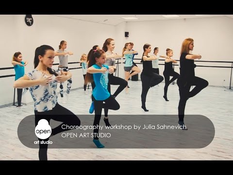 Сhoreography workshop by Julia Sahnevich - Open Art Studio