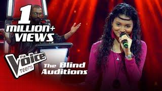 Himasha Umayandi | Sanda Pahan Raye Blind Auditions |The Voice Teens Sri Lanka