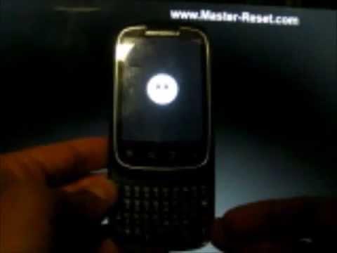 Master Reset Motorola Spice. Motorola XT300 Master Reset - Hard Reset