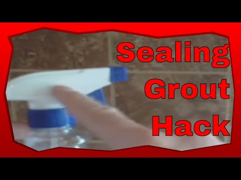 Applying Clear Seal To A Kitchen Tile Back Splash How