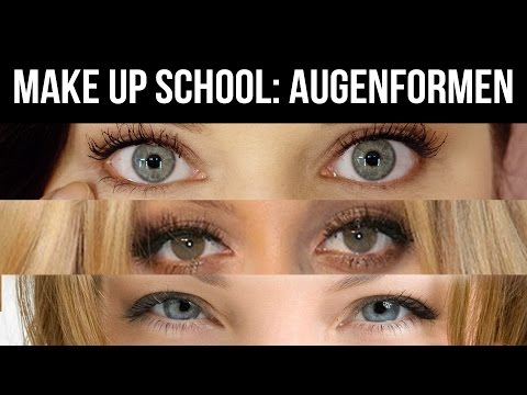 Make-up School / Lesson 2: Augenformen erkennen
