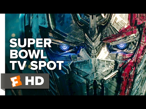 Transformers The Last Knight Extended SuperBowl TV Spot