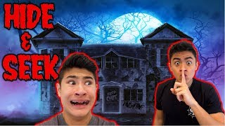 Hide and Seek in HAUNTED HOUSE (Loser WAXES armpits!)