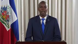 VIDEO: Haiti - Message a la Nation du President Jovenel Moise - 14 Juillet 2018