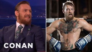 Conor McGregor's Crazy Chest Tattoo - CONAN on TBS