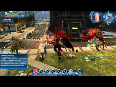 DC Universe Online Free to play MMO HD First Impressions Review with The Realist Reviewer