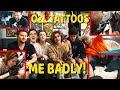 O2L TATTOOS ME BADLY! | Sam Pottorff