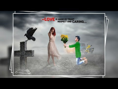 Ps touch lover boy photo editing  love proposal photo editing  PS touch + snapseed editing tutorial