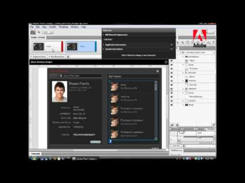 4 minute Adobe Flash Catalyst introduction