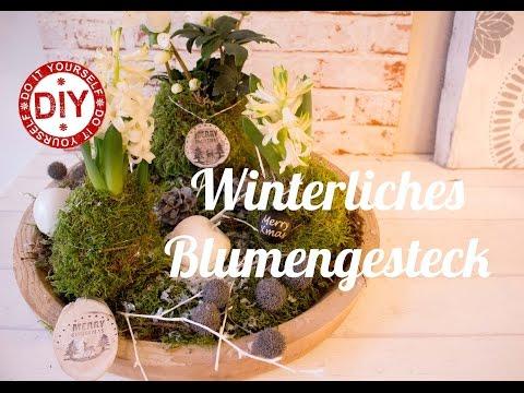 How to: Winterliches Blumengesteck I Deko Inspirationen by Patricia Morgenthaler (Mrs. Shabby Chic)