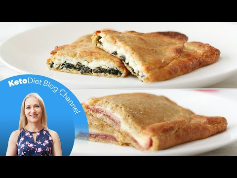 Keto Diet: Hot Breakfast Pockets 2 Ways