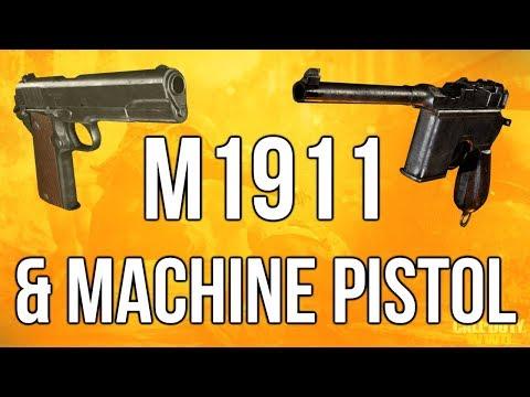 WW2 In Depth: M1911 & Machine Pistol (Call of Duty: WWII)