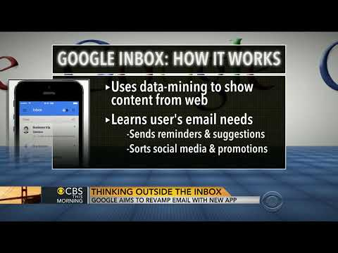 Google aims to revamp email with new Inbox app