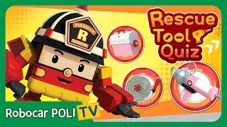 Rescue Tool Quiz | #03 | Robocar POLI