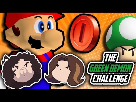 Super Mario 64 Green Demon Challenge: Third Times the Charm? - PART 3 - Game Grumps