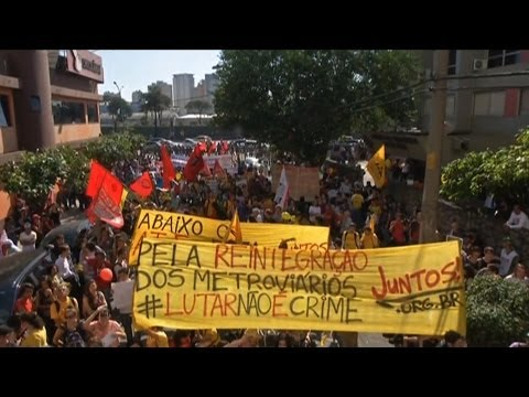 """""""A Neo-Liberal Trojan Horse"""": Dave Zirin on Brazil's Mass Protests Against World Cup Displacement"""