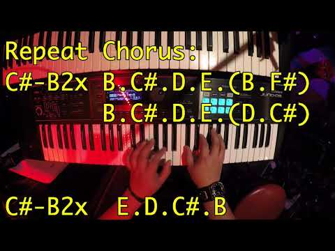 Is this love by Bob Marley how to play live keyboard tutorial