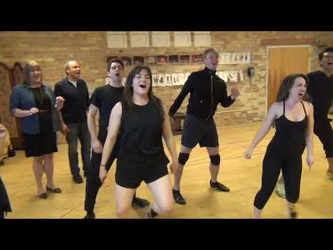 "KISS ME, KATE Rehearsal: ""Anoth Op'nin, Another Show"""
