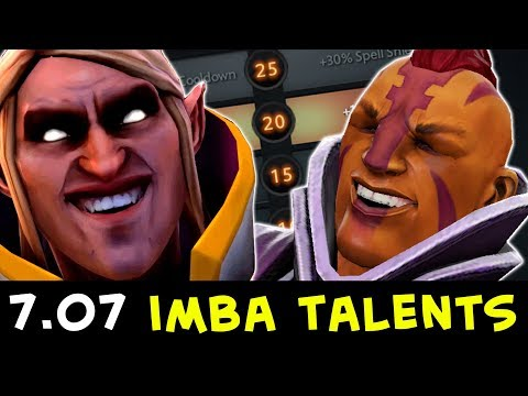 New 7.07 IMBA TALENTS — cancer Riki, Invoker, Techies