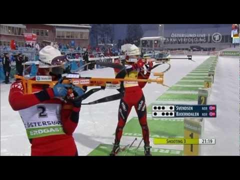 05.12.2010 Biathlon Östersund Verfolgung/Pursuit Winner Ole Einar Bjørndalen(full)