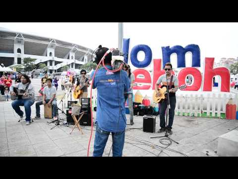 Genji Buskers - Putih - Putih  Melati Cover Jom Heboh Tv3 video