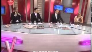 Anchor UnDressed On Live Tv Show    Most Unlucky Anchor Of The World
